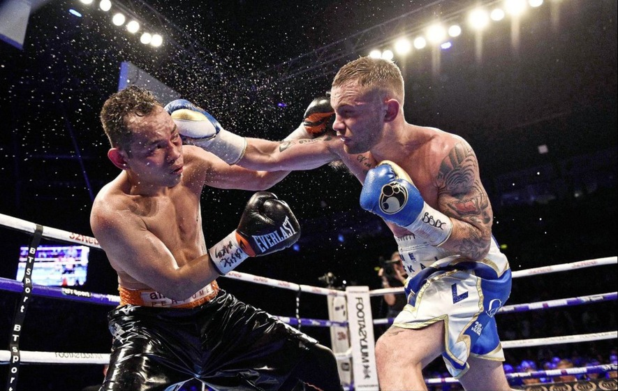 Carl Frampton Now a World Film Industry Hit, Says Barry Mcguigan